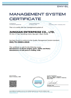 ISO/TS 29001 (DNV.GL)